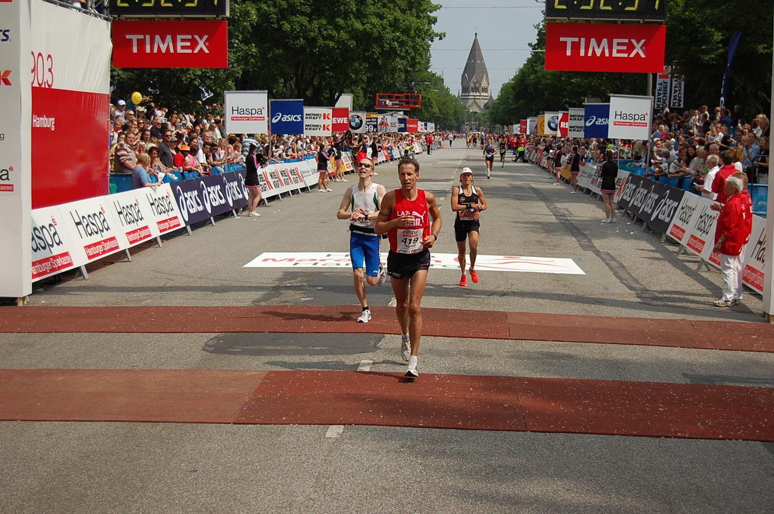 26. Haspa Marathon Hamburg: Marion Jakobs (SV schlau.com Saar 05 Saarbrücken) wird Deutsche Vizemeisterin